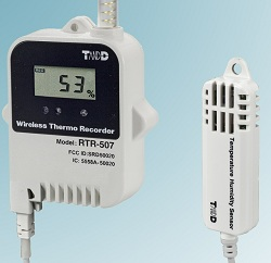 Wireless datalogger promises precise temperature and humidity recording