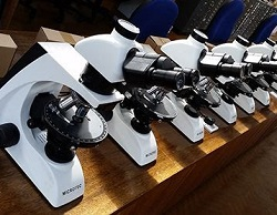 Student-proof microscopes for Cardiff University