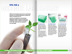 Magazine-format eco guide from Anachem includes special offers on pipettes