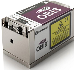 Coherent's Obis 405 is a powerful violet laser in a compact package