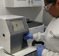 Beckman Coulter DxH 500 takes up little bench space in the lab