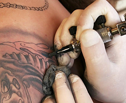 Metallic contaminants in tattoo ink can be identified using Postnova AF2000 FFF system